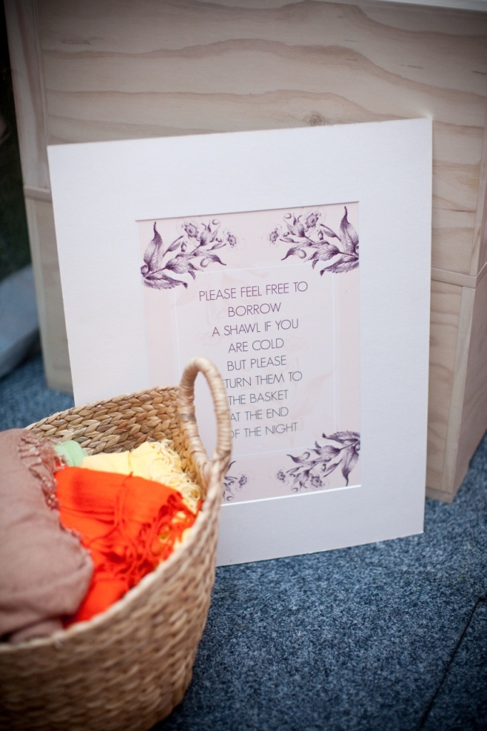 Great idea for winter weddings www.touchedbyangels.com.au