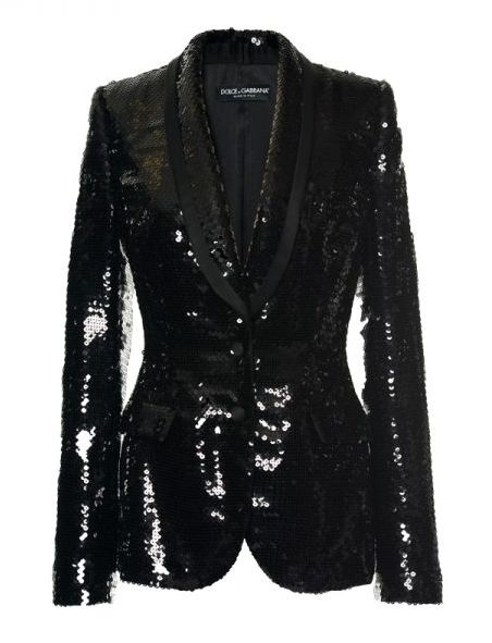 Does it get more festive than a sparkly, sequined blazer?