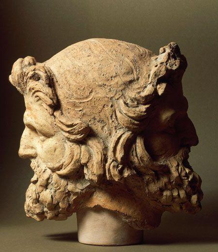 Head of Two-Faced Janus (2nd c. BCE); Museo Nazionale Etrusco di Villa Giulia, Rome