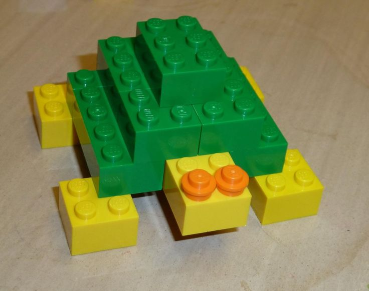 Easy Things To Build With Random Legos