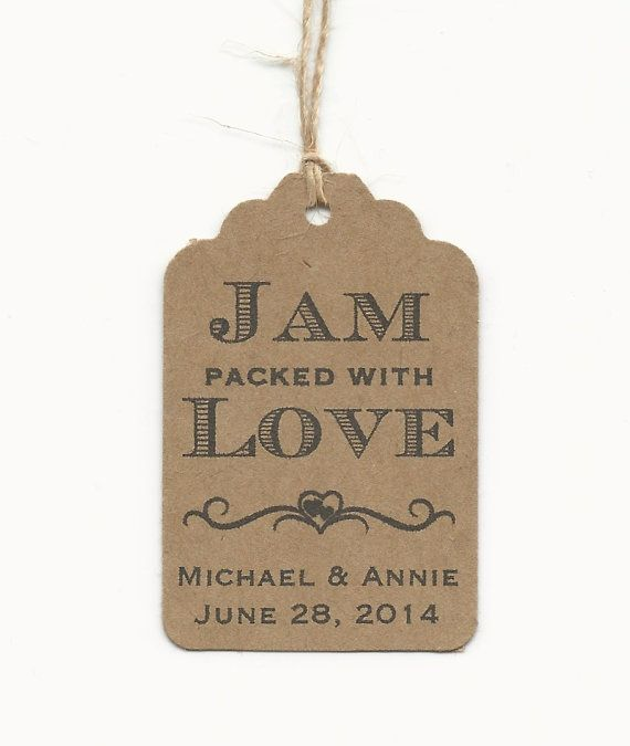 100 JAM packed with Love Personalized by AnniesImpressions on Etsy, $50.00