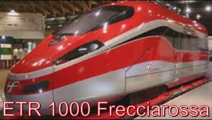 ETR 1000 Frecciarossa Итальянский скоростной поезд  !