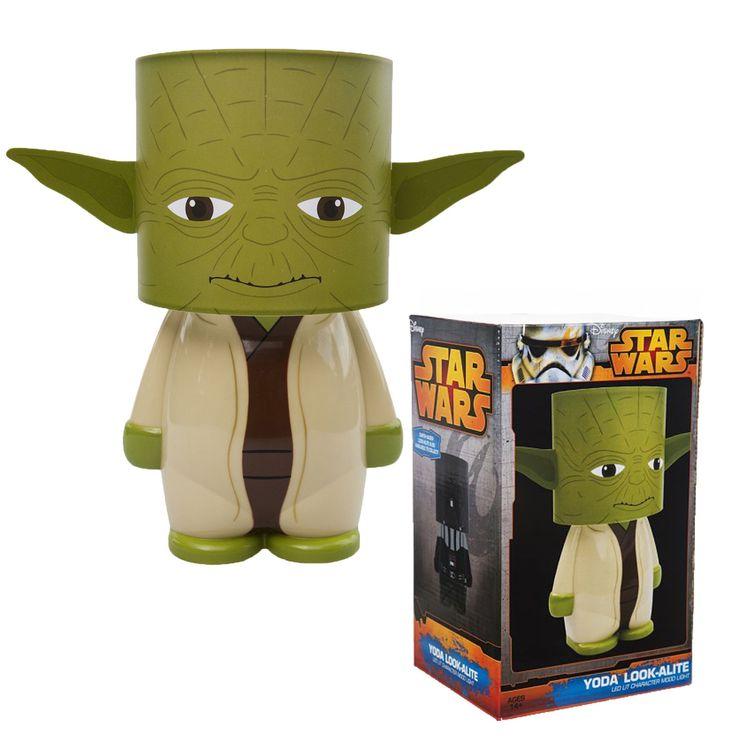 Yoda New Official Star Wars LED Look Alite Mood Night Table Lamp Light | eBay