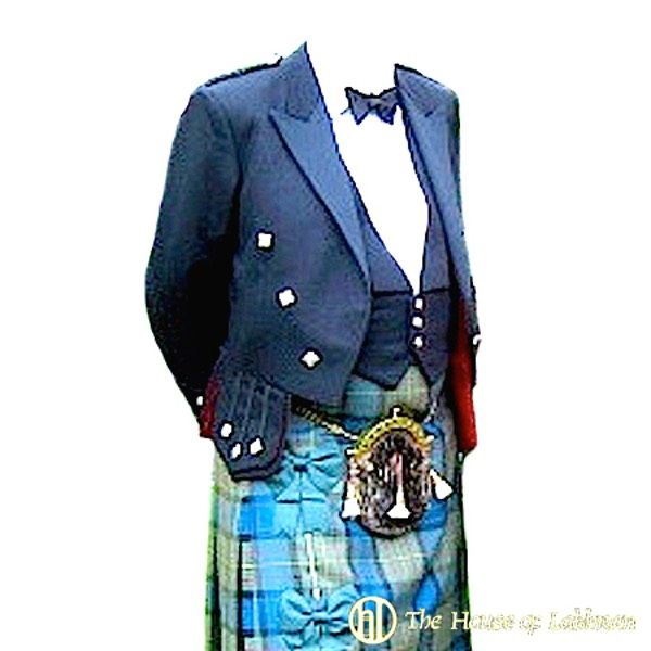Scottish regulation kilt doublet made to order. Fine Scottish kilt jackets made to order in Scotland by Mail order. Including Prince Charlie jackets and vest, Regulation doublets, Sherriffmuir jackets and Argyle jackets and waistcoats. In wonderful cloths from fine velvets to Scottish keepers tweeds. 100% made in Scotland. The very best Scottish kilt and Highland wear online.