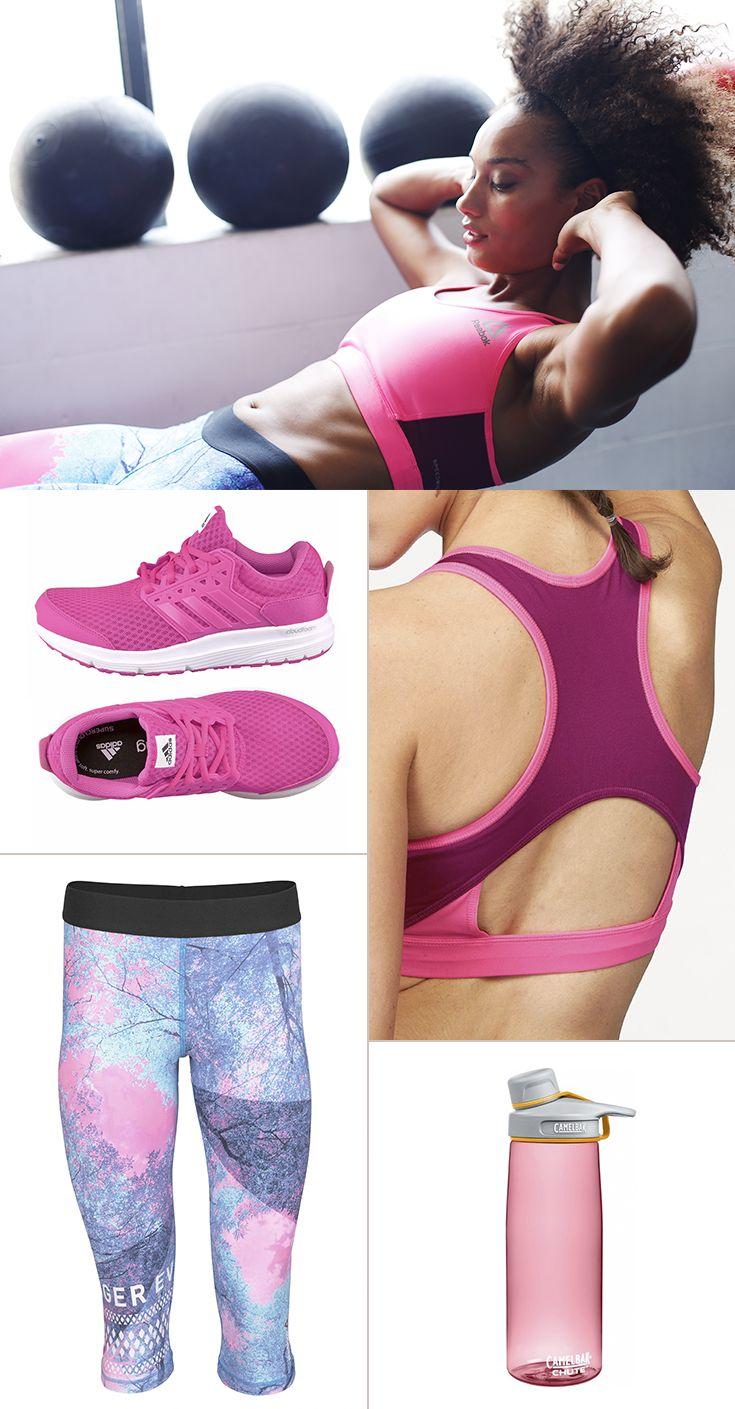 Pretty in Pastels: In diesem modischen Sport-Outfit kannst du frisch und beflügelt dem Frühling entgegen joggen …