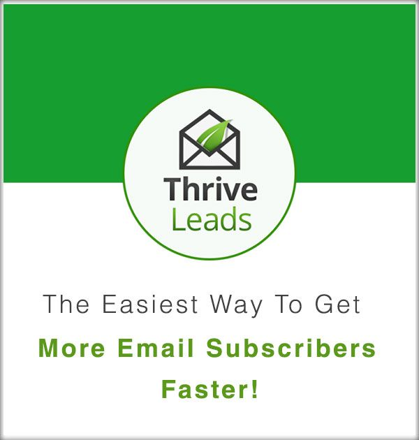 Thrive Leads is one of the most important WordPress Plugins and without a doubt the best to grow your email list. It provides you with several incredible opt-in methods along with beautifully design forms that are 100% customizable with a simple drag-and-drop editor.
