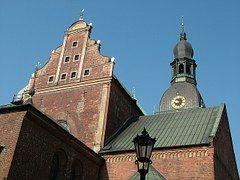 Letonia, Riga, Dom, Arquitectura