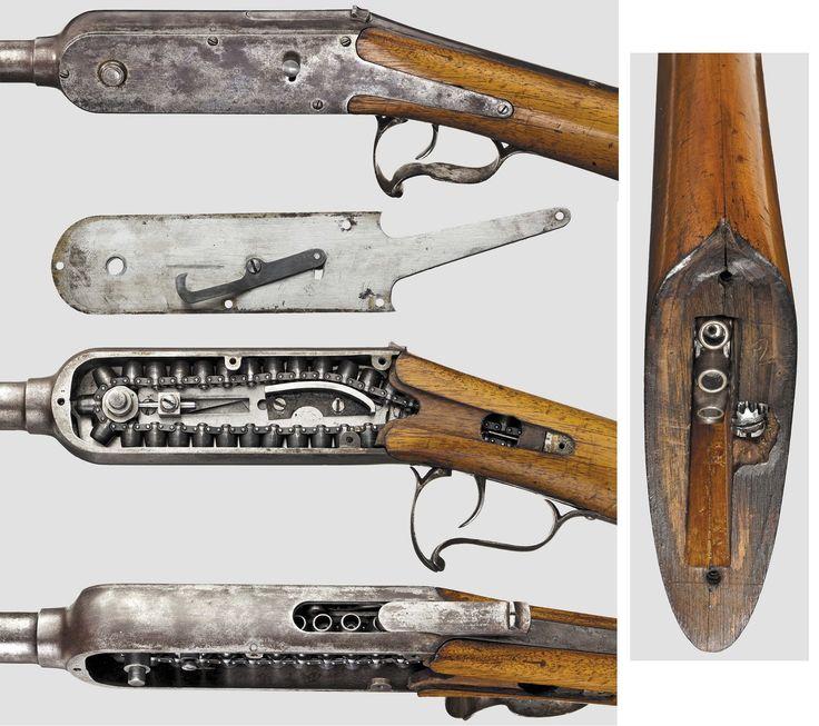 Французская цепная винтовка Гайкота (кликните по ...