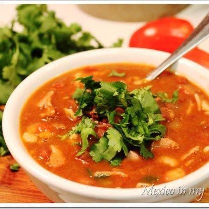 How to Make Charro Beans Soup / Receta de Frijoles a la Charra o Frijoles Charros #recipes #MexicanFood