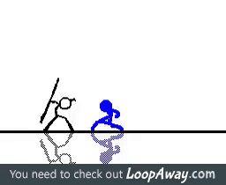 Kickass stick figure animation