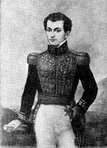 General José Trinidad Morán.