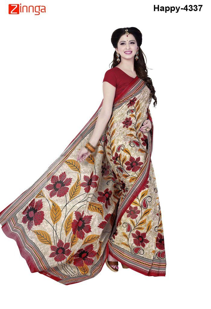 Latest Designer Multi Color Cotton Saree | Zinnga #Sarees #Saris #Fashion #Look #Popular #Offers #Deals #Fashionable #Zinnga #zinngafashion #Deal #Look #Picoftheday #Photooftheday #womens