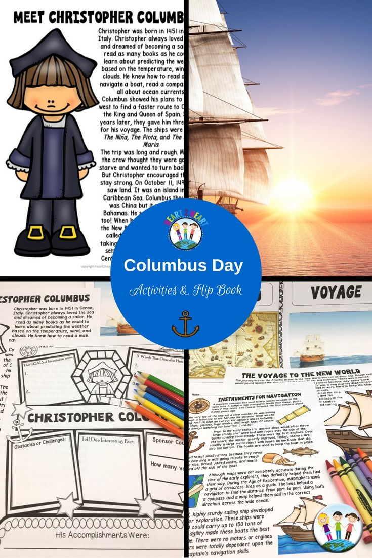 Columbus Day is almost here! Students will love learning all about Christopher Columbus with this Activity Pack and Flip Book! This unit includes reading passages, biography organizer, vocabulary posters, and flip book--perfect for grades 2-4!