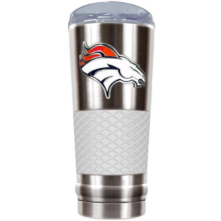 Denver Broncos 24oz. Draft Tumbler - White
