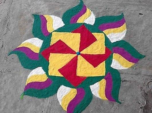 Rangoli Designs for Competition