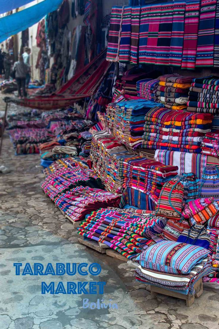 Thinking of visiting the Tarabuco Market in Bolivia? Then why not Pin it? | heneedsfood.com