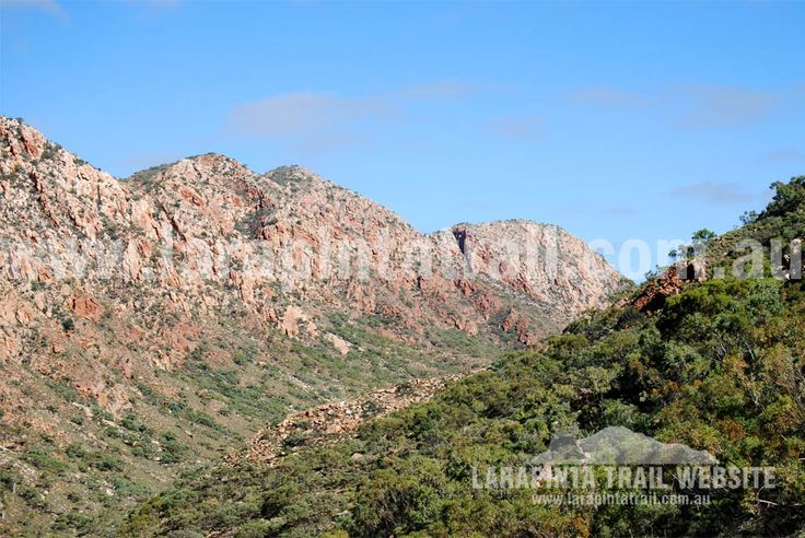 Breathtaking views of the amazing Chewings Range along Section 3, Larapinta Trail. © Explorers Australia Pty Ltd 201