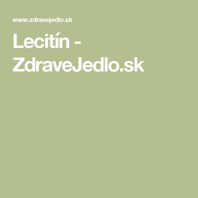 Lecitín - ZdraveJedlo.sk