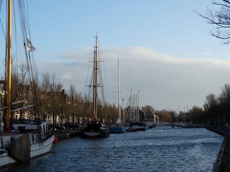 The Netherlands - Harlingen - view harbour