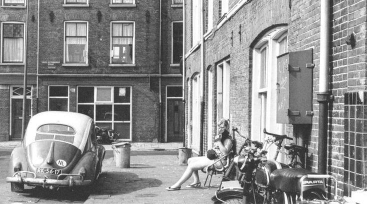 Amsterdam: De Grote Wittenburgerstraat 1969