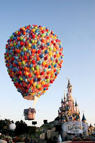 Forget Disney. .this would be my dream hot air balloon ride!