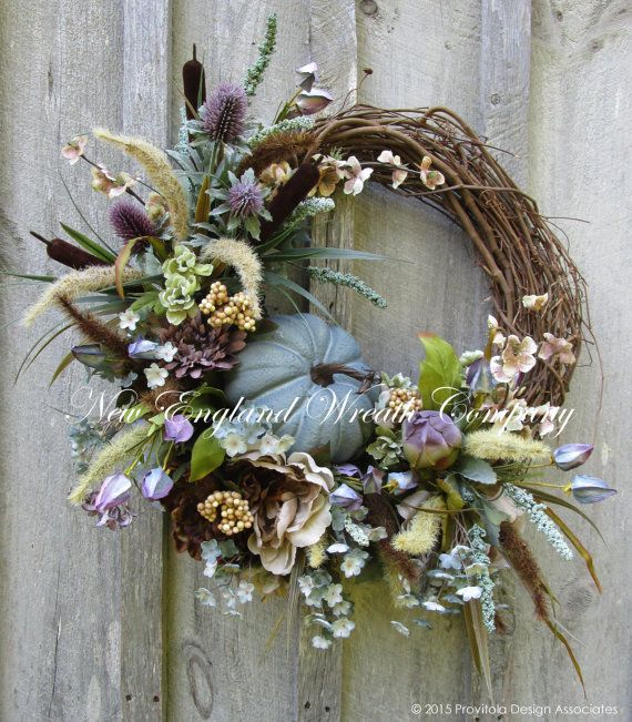 Fall Wreath, Autumn Wreath, Elegant Fall Wreath, Fall Floral, Thanksgiving, Harvest, Pumpkin Wreath, Country French Fall, Designer Wreath