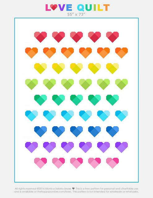 Love Quilt by Monica Solorio-Snow