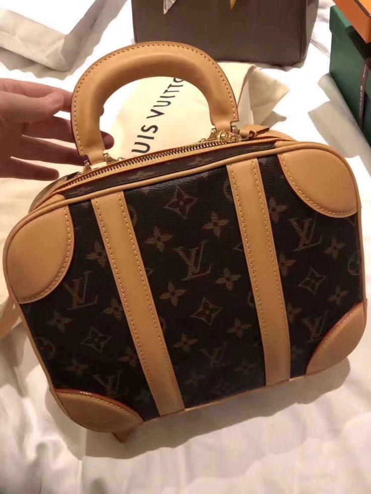 Louis Vuitton Monogram Mini Luggage Bag M44581