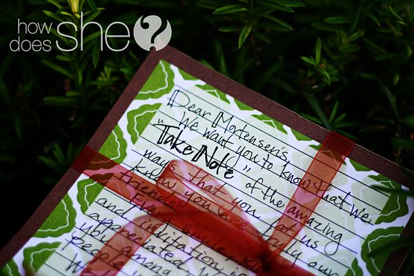 #41 Neighbor Christmas Gift Idea: Cute Note Pad | How Does She...