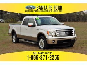 2013 White Platinum Metallic Tri-Coat Ford F-150 Lariat 38038A
