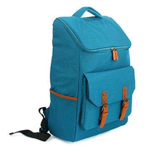 NWT Unisex Canvas Backpack Mens Womens College Bag Satchel Bookbags Laptop Boys