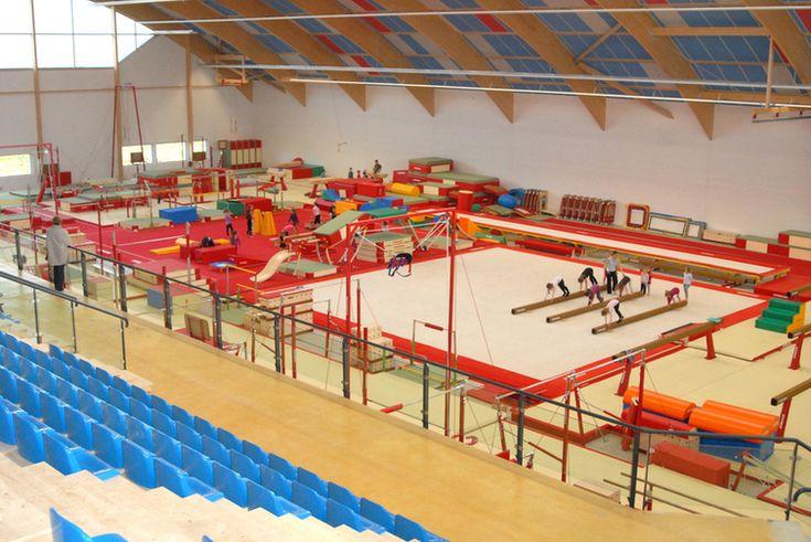 salle de gymnastique artistique du Complexe gymnique Arques