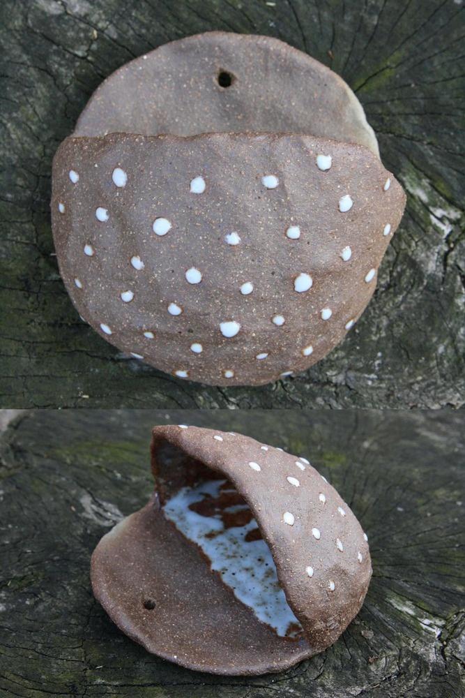 polka dot planter pocket / juju made