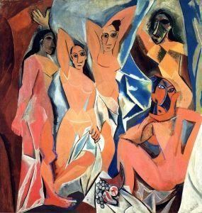 Les Demoiselles d'Avignon - Pablo Picasso - The Athenaeum