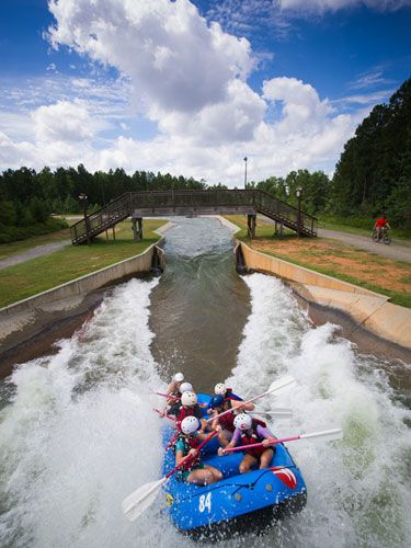The best date in North Carolina: U.S. National Whitewater Center