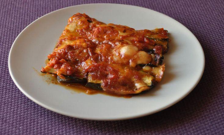 Parmigiana di zucchine e melanzane grigliate
