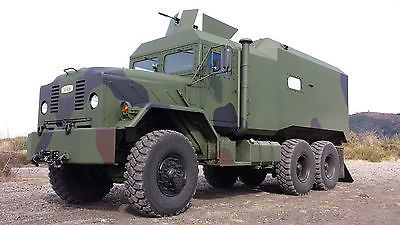 Military Vehicles For Sale » Blog Archive » 1990 BMY M923A2 6X6 MRAP Style Military Doomsday Truck Bug Out Vehicle BOV For Sale : $1000.00