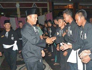 Mustafa Siap Lestarikan Pencak Silat di Lampung Tengah