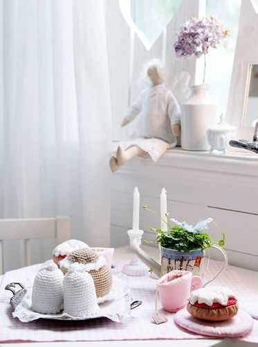 Adorable play time tea setting