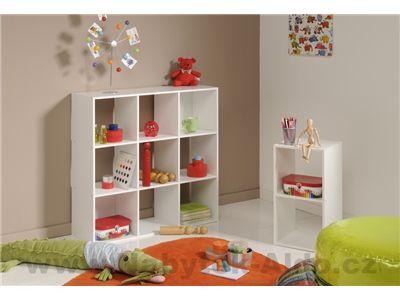 Regály do dětského pokoje Kubikub 805001-9