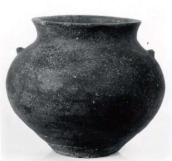 Cooking pot Period: Sasanian–early Islamic Date: ca. 6th–8th century A.D. Geography: Iran, Qasr-i Abu Nasr Culture: Sasanian or Islamic Medium: Ceramic Dimensions: 5.25 in. (13.34 cm) Classification: Ceramics-Vessels
