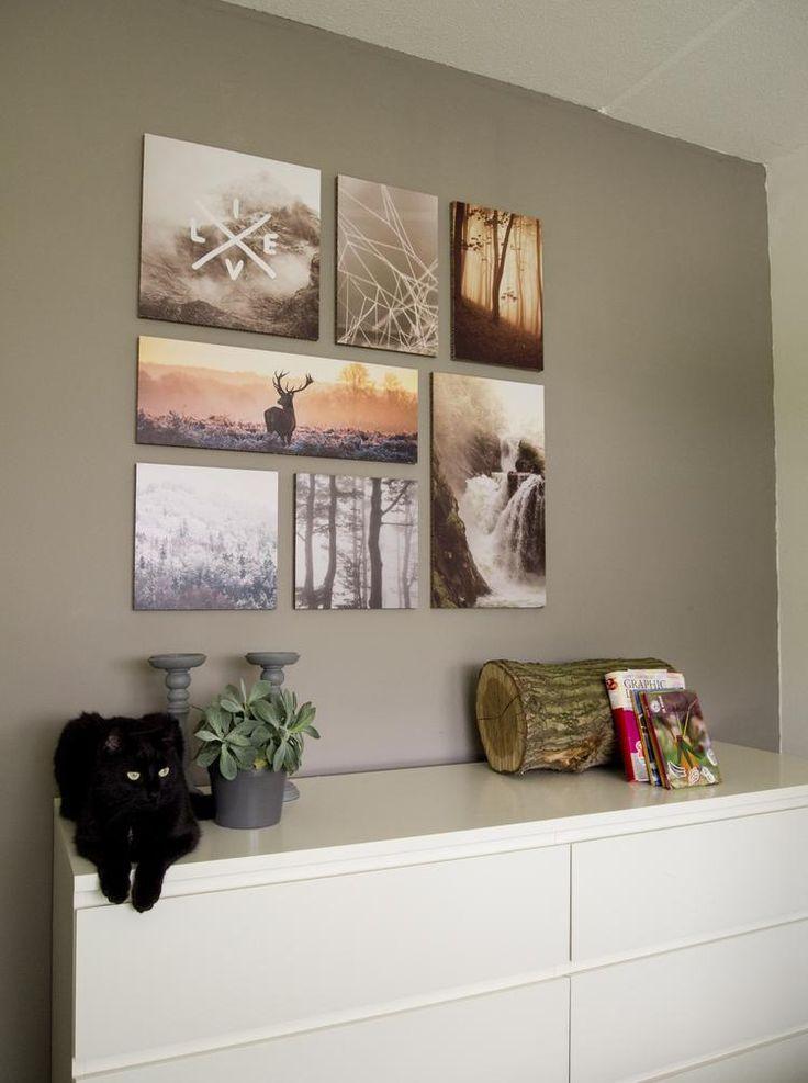 Ogu Live Life uit onze Themed Collection! Het schijnt dat de kat en Live Life onafscheidelijk zijn. #slaapkamer #interieurtip #muurdecoratie