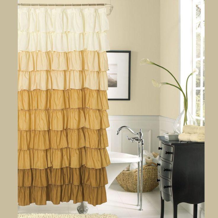 Bathroom Ceiling Ideas Pinterest: Best 25+ Brown Shower Curtains Ideas On Pinterest