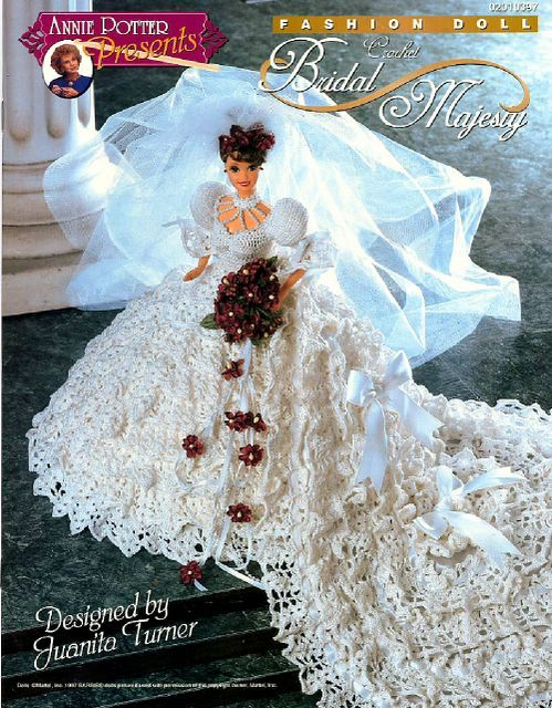 Free Copy of Crochet Pattern - Bridal Majesty
