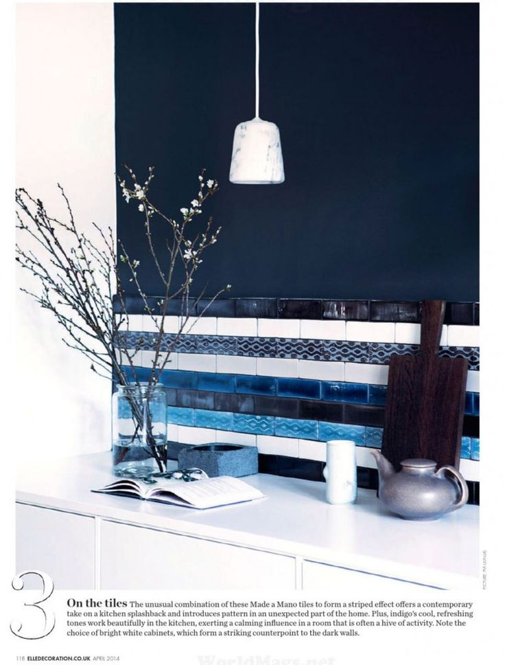 45 best colour//indigo interiors images on pinterest