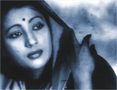 My favorite bengali cinema actress. Suchitra Sen.