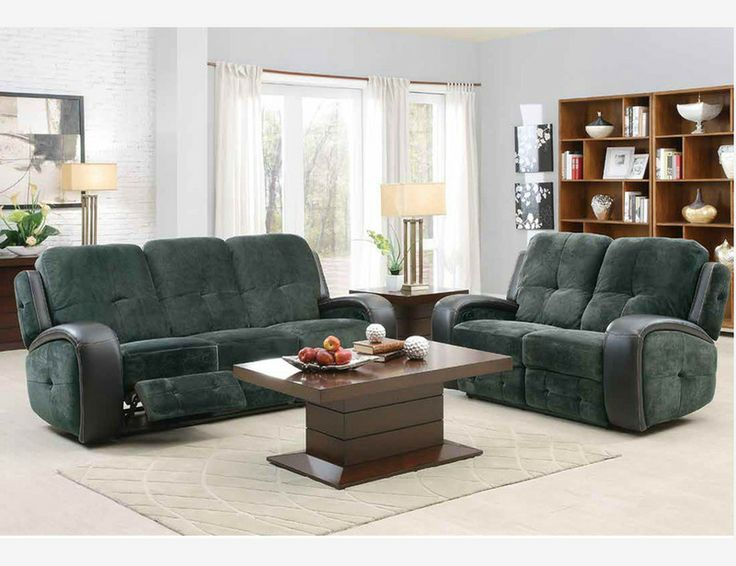 flatbush plush microfiber dual reclining sofa loveseat motion living