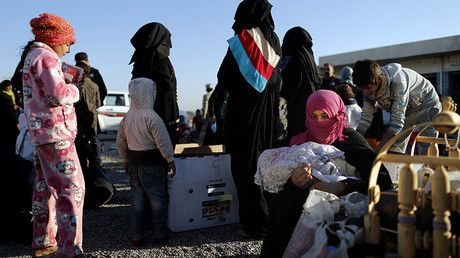 "'Collective punishment & war crimes': HRW condemns forced relocation of ISIS families in Iraq https://tmbw.news/collective-punishment-war-crimes-hrw-condemns-forced-relocation-of-isis-families-in-iraq  Forced relocations of alleged Islamic State (IS, formerly ISIS/ISIL) terrorists' families to a ""rehabilitation camp"" in Iraq are an act of collective punishment, Human Rights Watch has stated. RT spoke to an HRW member who visited the camp.In a report published Thursday, HRW said that at least…"