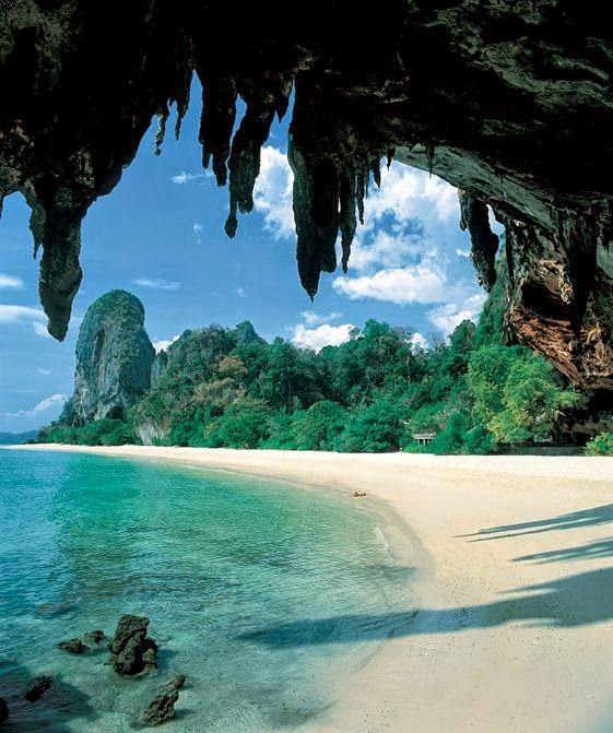 Krabi National Marine Park, Railay Beach, Thailand