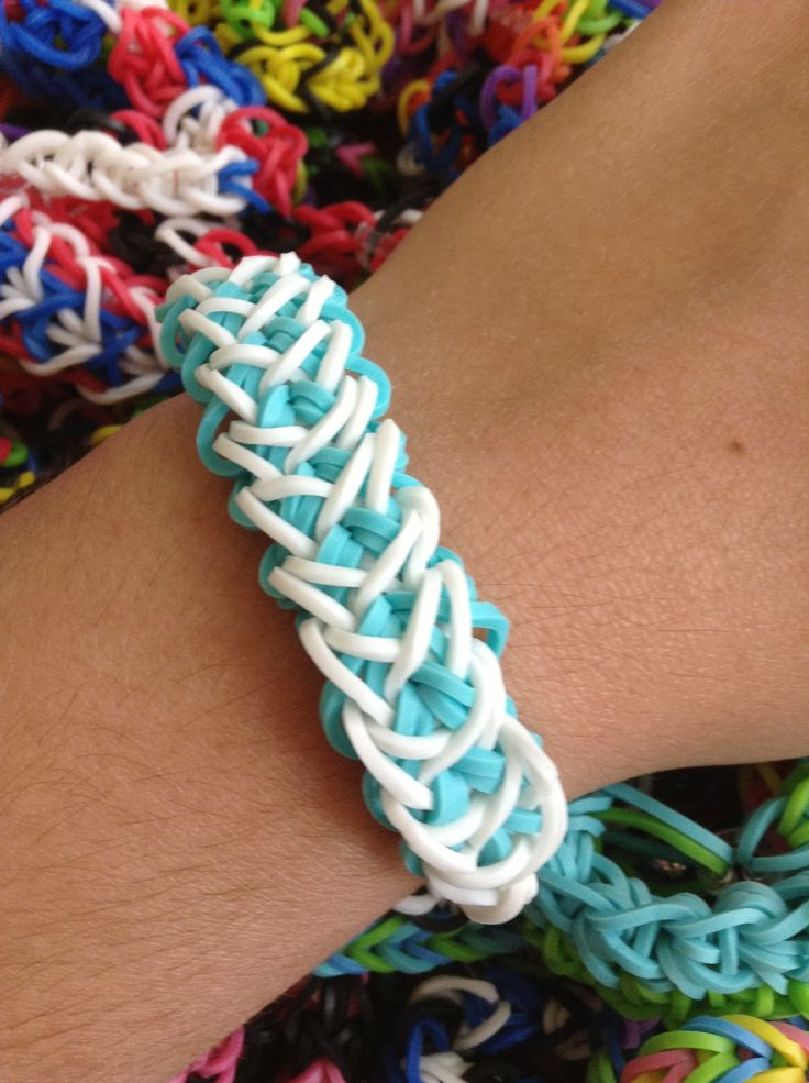 different types of loom bands and how to make them